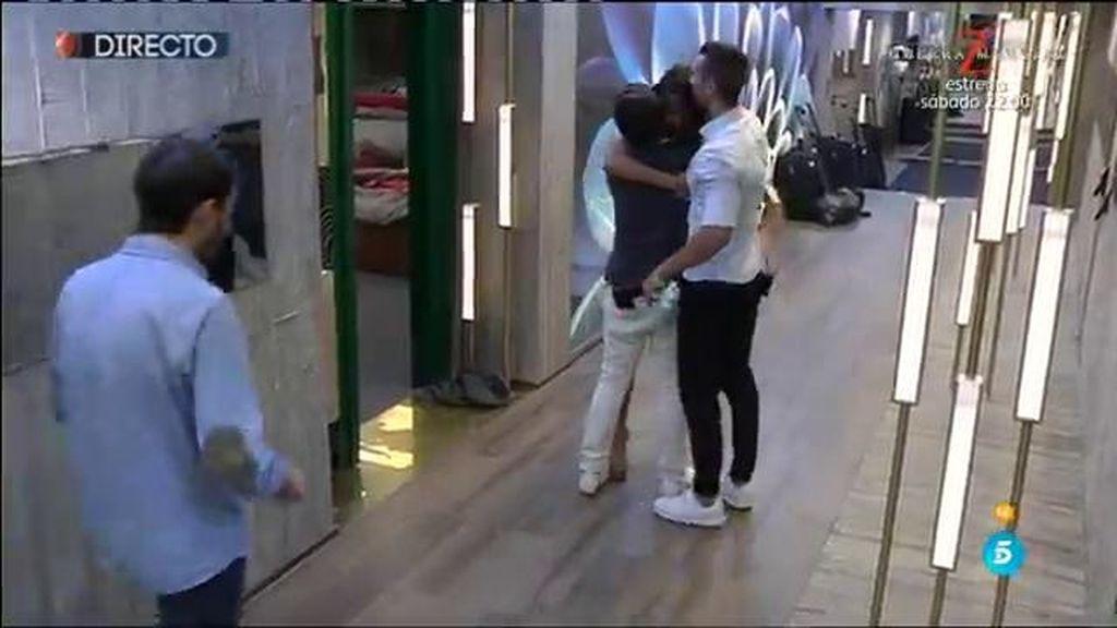 """Sofía se salva de la expulsión y Suso la recibe: """"Te he hecho ganadora y lo sabes"""""""