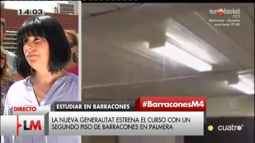 Un grupo de padres denuncian que sus hijos llevan 7 años en barracones