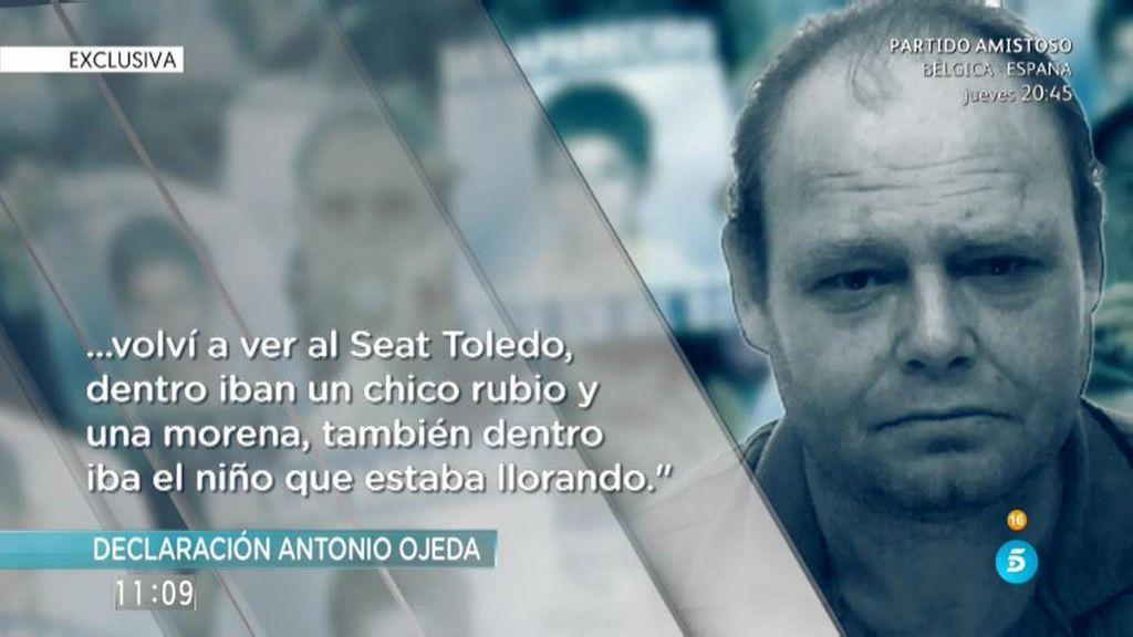 """Antonio Ojeda: """"Vi a una mujer con un niño, iba llorando. Para mí que era Yéremi"""""""