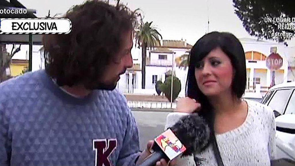 """Sandra, la supuesta nueva novia de Antonio Tejado: """"Solo somos amigos"""""""