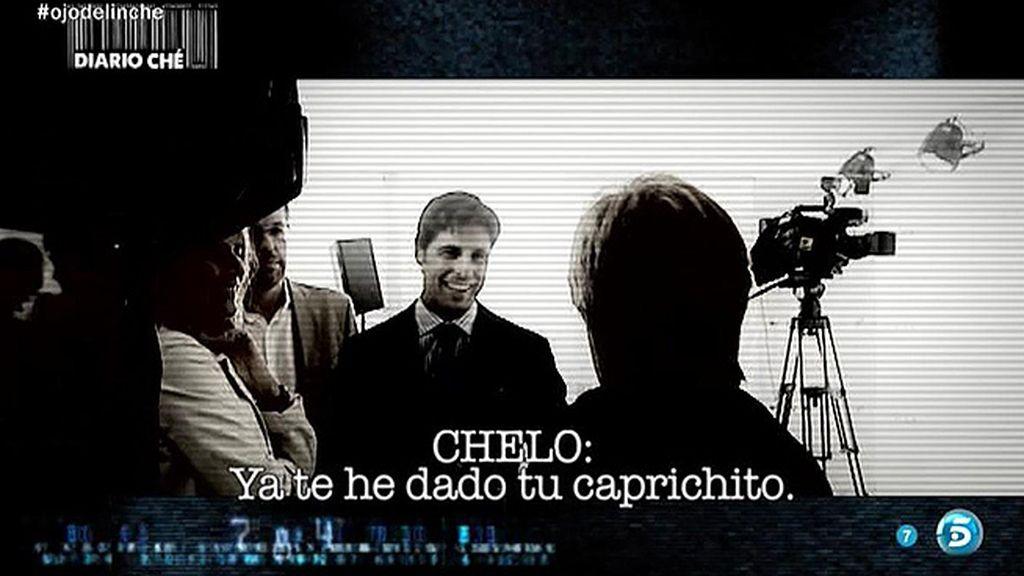 Chelo Gª Cortés pacta su entrevista con Francisco Rivera