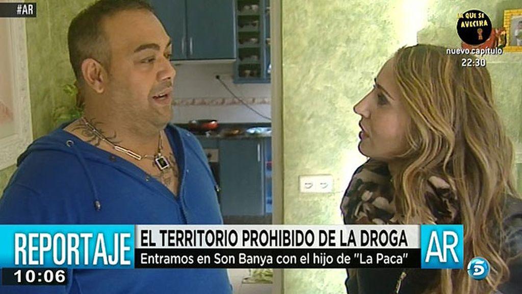 """El hijo de 'La Paca': """"Cuando mi madre estaba aquí no había tantos problemas"""""""
