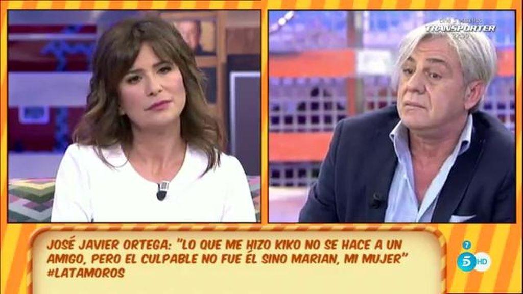 """José Javier Ortega: """"Marian es una persona muy fría, siempre lo ha sido"""""""