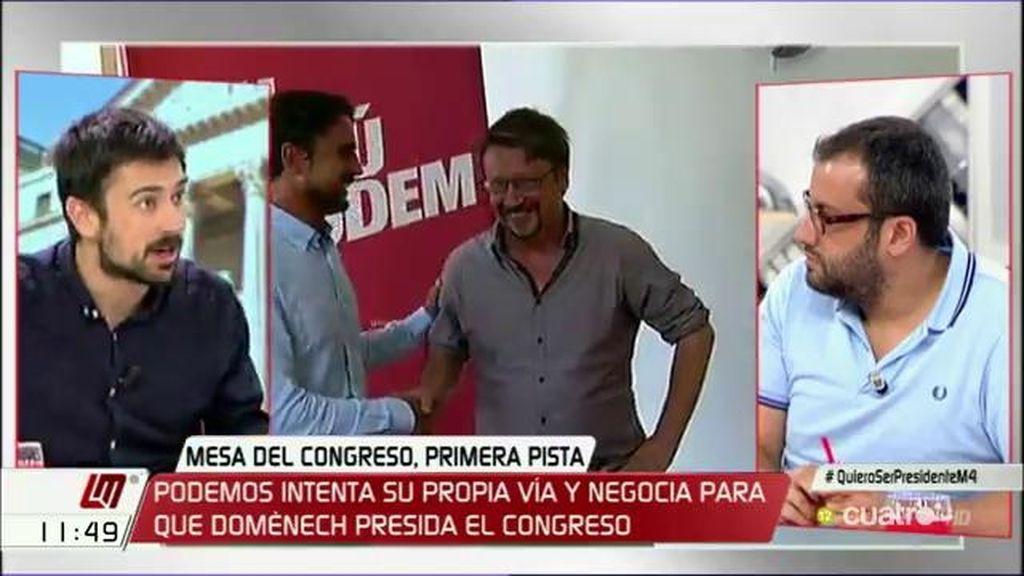 """Ibán García del Blanco (PSOE), sobre la mesa del Congreso: """"En el regate corto o la picaresca no vamos a solucionar esto"""""""