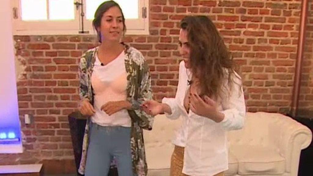 Un look de calle con prendas de lencería: Alicia y Laura, ante la prueba más sensual