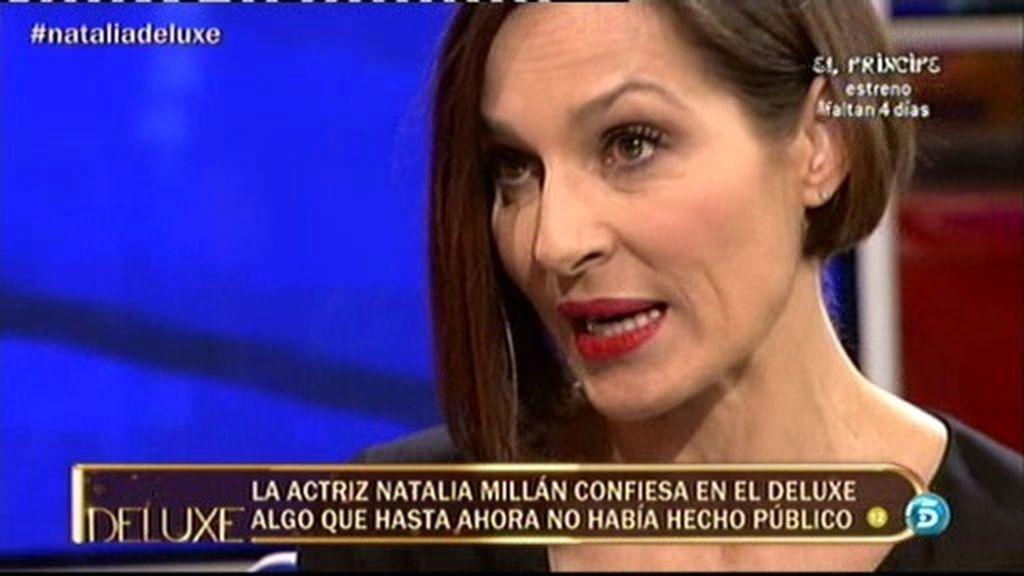 """Natalia Millán: """"He llegado a pasar hambre"""""""