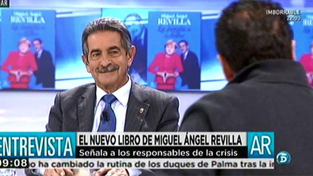 """Miguel Ángel Revilla: """"En Cataluña hay que hacer pedagogía"""""""