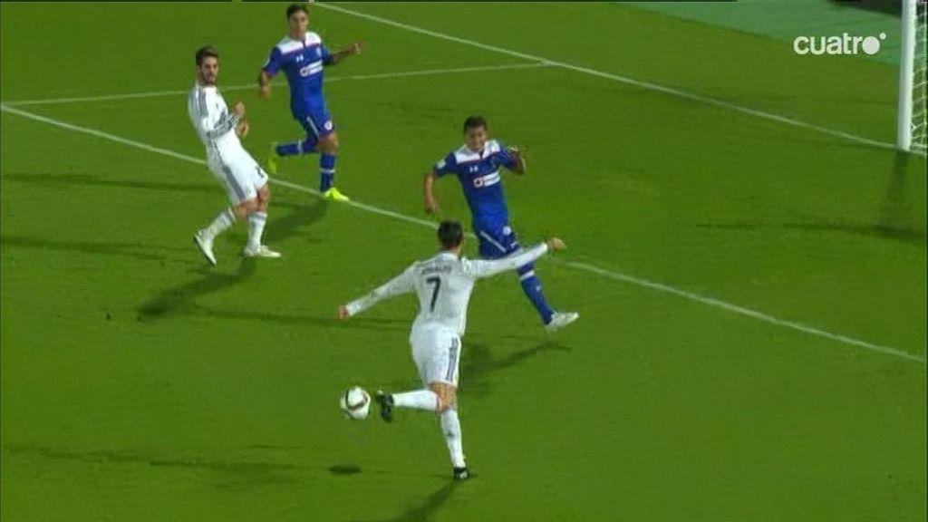 Cristiano Ronaldo intentó de rabona el que hubiera sido el gol de su vida