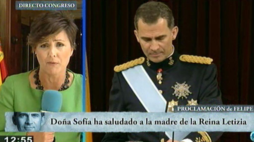 """Sonsoles Onega: """"Doña Sofía y la madre de Letizia han tenido un momento de privacidad"""""""