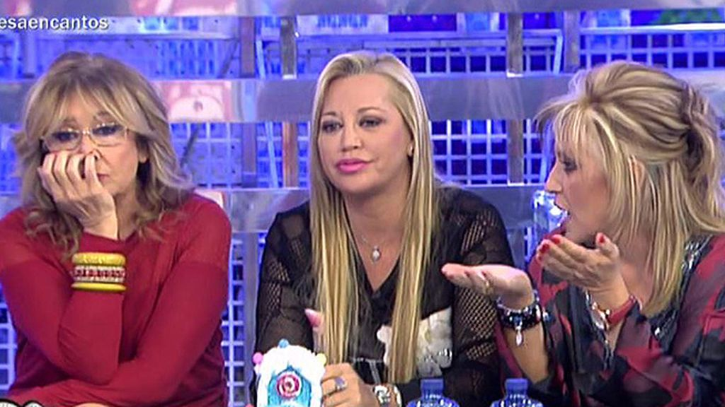"""Belén Esteban: """"Ángela Portero se está operando la nariz, la boca y el pecho"""""""