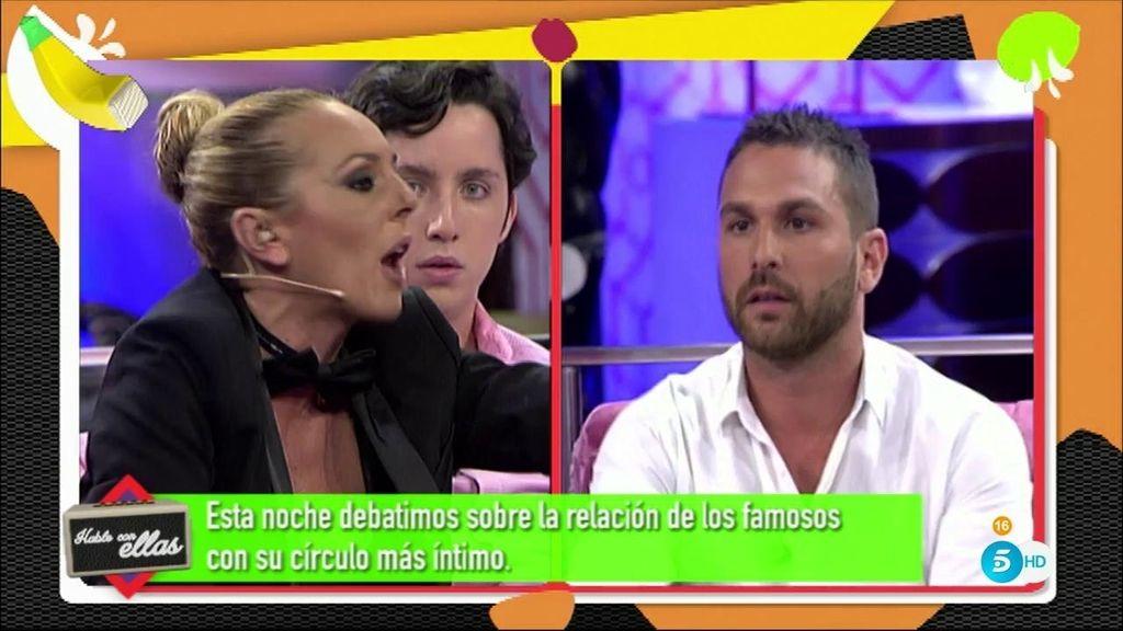 """Rocío Carrasco, a Jordi Martí: """"Luis Rollán quería que le dejases en paz"""""""