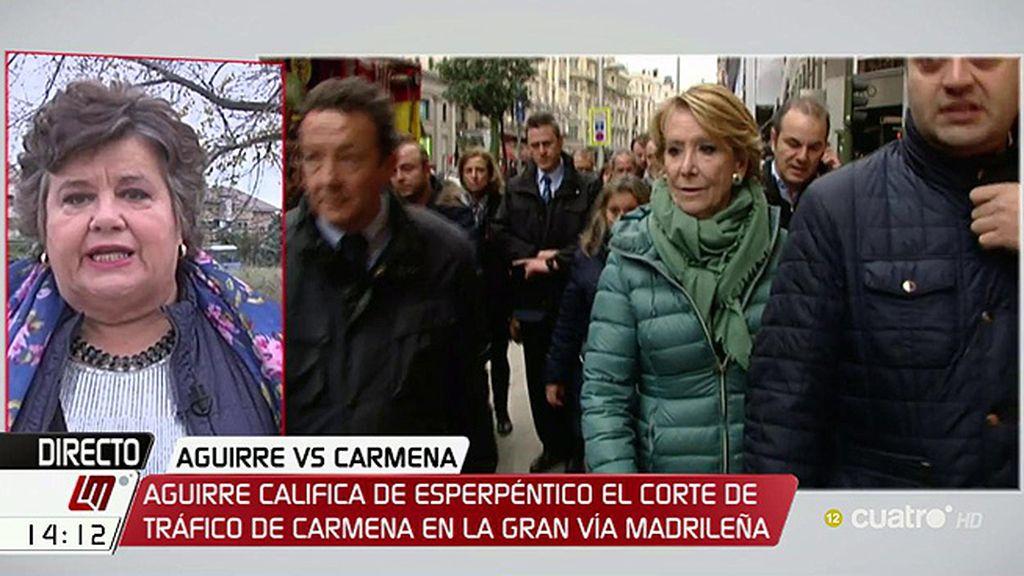 """Almeida, tras las críticas de Aguirre por los cortes de tráfico: """"Se le fue la olla"""""""