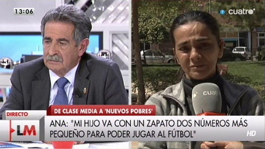"""Miguel Ángel Revilla pide la dirección de Ana: """"Tendrás noticias esta semana, positivas"""""""