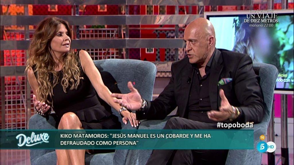 """Kiko M.: """"Las revistas que tenían la exclusiva de la boda van a demandar a Jesús Manuel"""""""