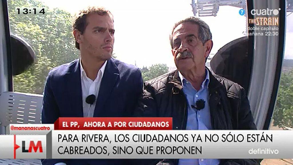 """Revilla, a Albert Rivera: """"Hay muchos ojos puestos en ti, no los defraudes"""""""