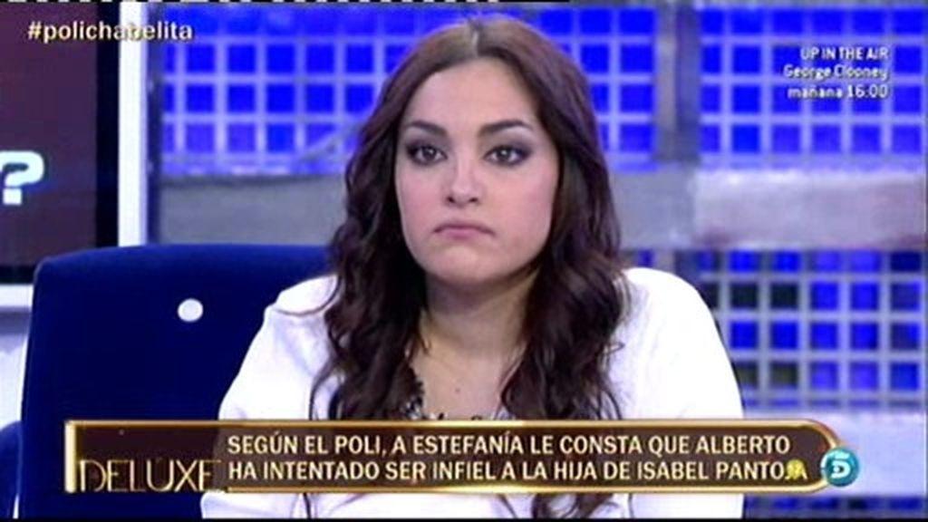 """Estefanía: """"Le voy a pedir a Alberto Isla que se haga las pruebas de paternidad"""""""