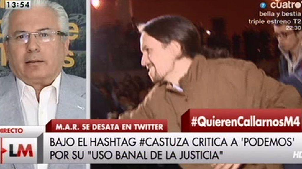 """Garzón, sobre Podemos: """"Es un despropósito acusar a Pablo Iglesias de que está con ETA"""""""