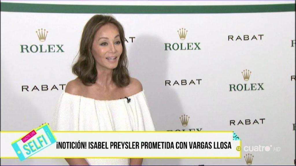 Boda a la vista: Isabel Preysler y Mario Vargas Llosa están prometidos