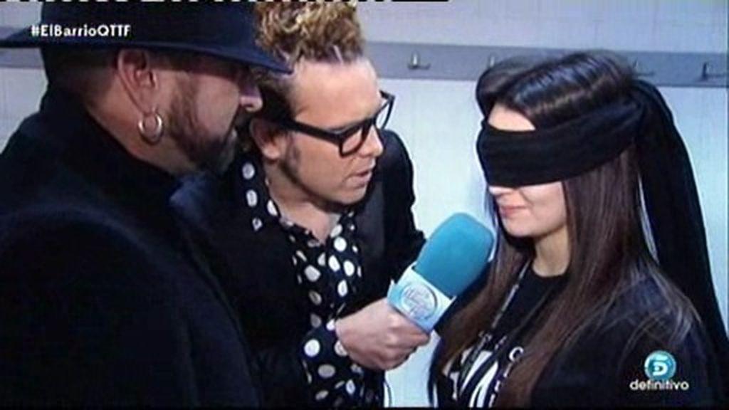 Torito se cuela en el backstage del concierto de 'El Barrio' en Madrid