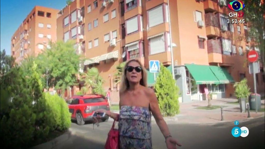 """Rosa Benito, a las cámaras de 'SLVM': """"Yo ya estoy fuera de la tele, dejadme en paz"""""""