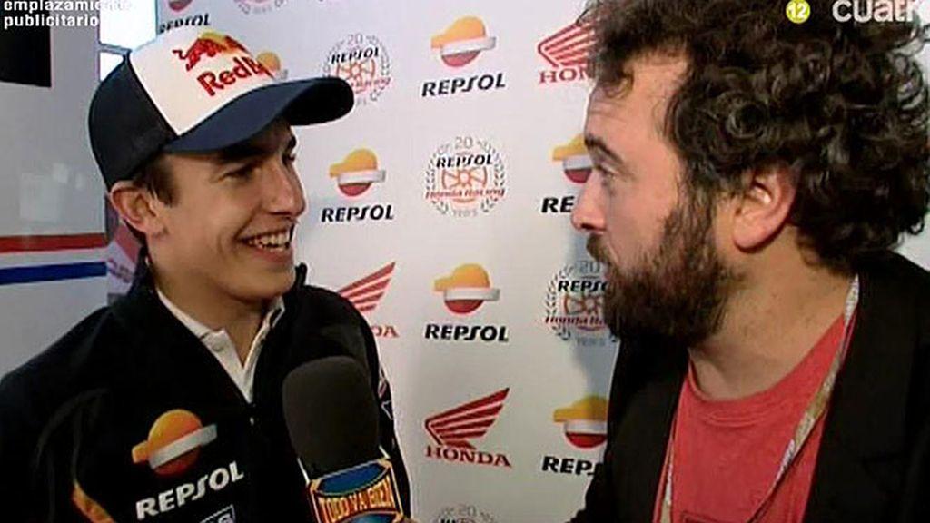 """Marc Márquez: """"En las carreras siempre llevo los mismos calzoncillos"""""""
