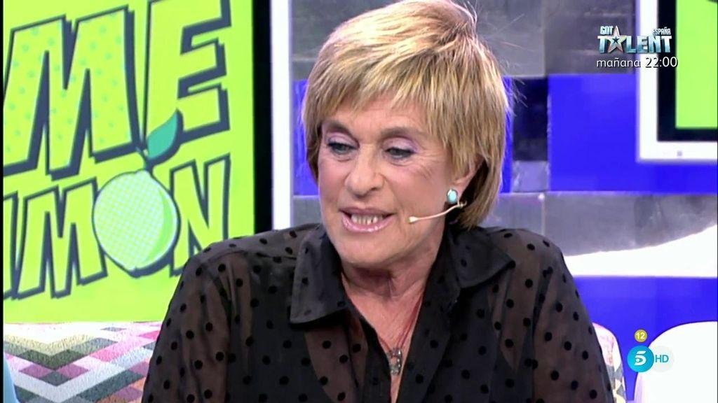 """Chelo Gª Cortés, tras la cámara oculta: """"Espero que mis compañeros pasen página"""""""
