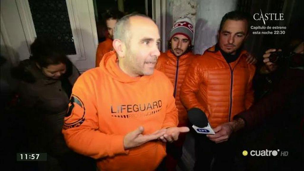 Regresan los bomberos detenidos en Grecia acusados de tráfico de personas