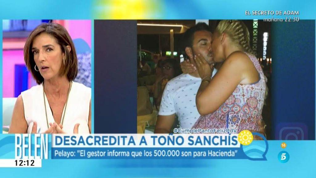 La verdad de los mensajes cruzados entre Toño Sanchís y Belén Esteban