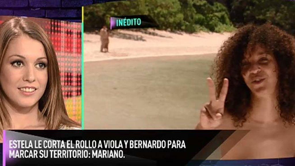 Viola quería conocer a Mariano y Bernardo