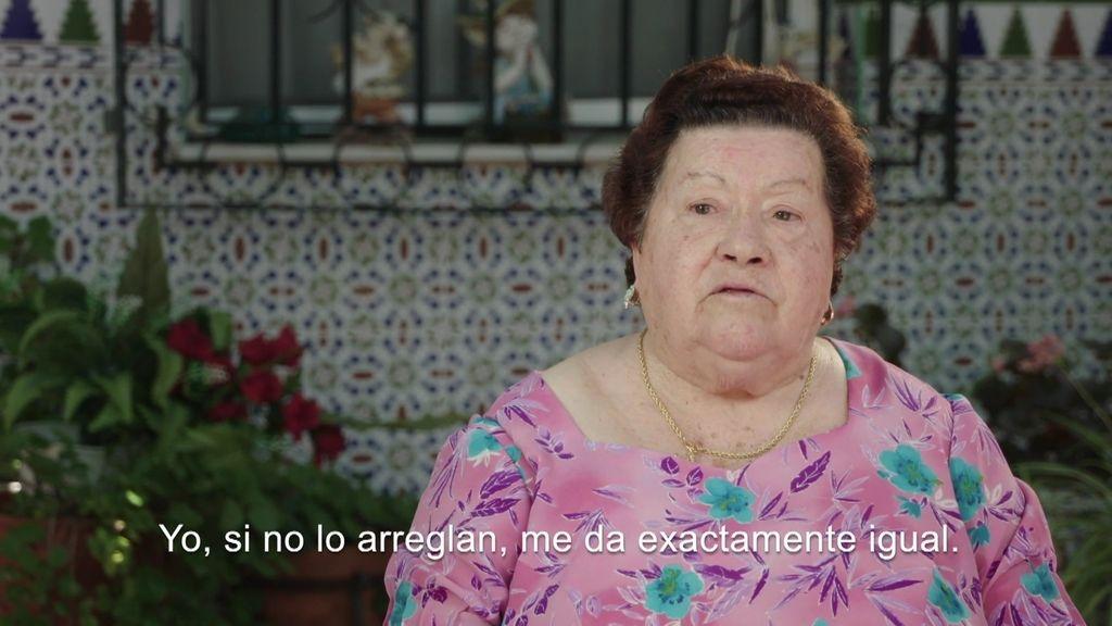 """Abuela de Manoli: """"Si no lo arreglan me da exactamente igual"""""""