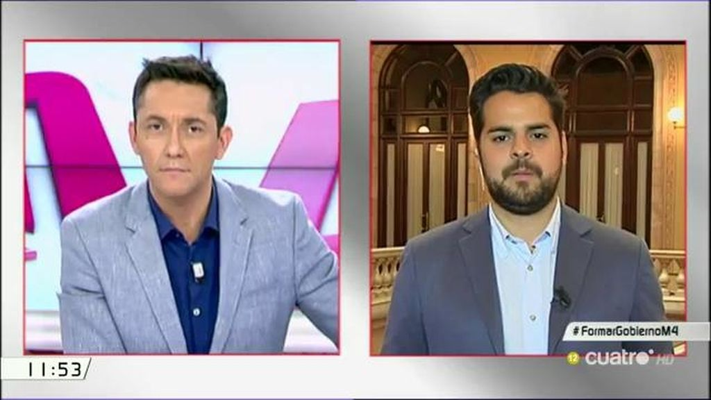 """Fernando de Páramo (Ciudadanos): """"La pelota está en el tejado del PSOE"""""""