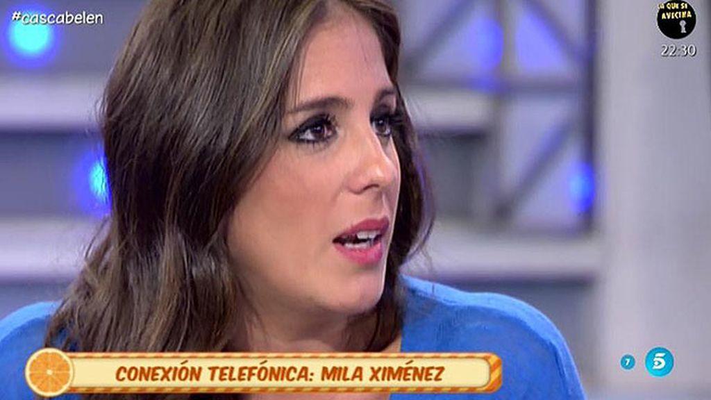 """Mila Ximénez, a Anabel: """"Te estás portando con una elegancia que yo no sabría"""""""