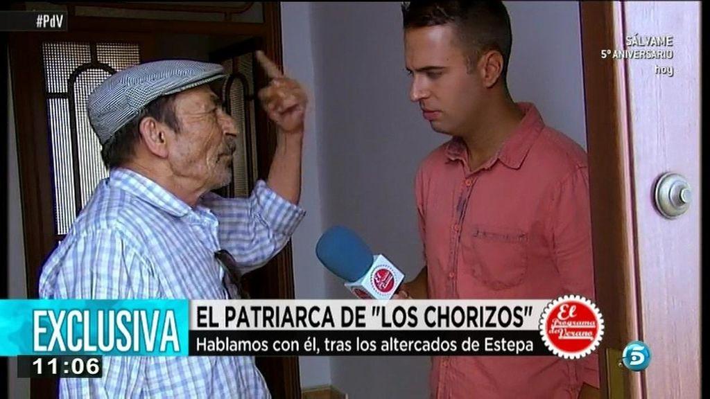 """El patriarca del clan de 'Los Chorizos': """"Si están robando, que los detengan y punto"""""""
