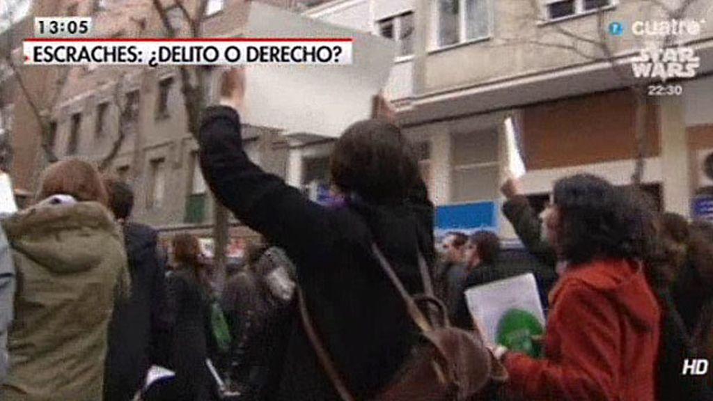 El PP, indigando porque no se considere delito el escrache a Sáenz de Santamaría