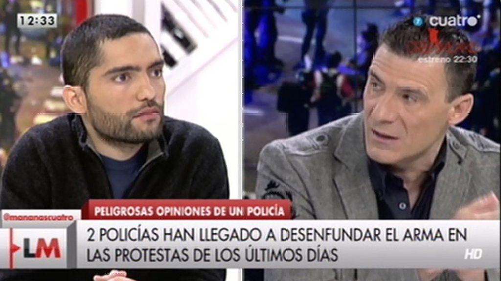 """Alfredo Perdiguero, a Tohíl Delgado: """"Tienes muy poca vergüenza al decir lo que dices"""""""