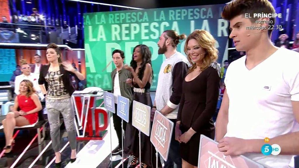 ¡Los candidatos a la repesca de 'GH VIP' comienzan su campaña!