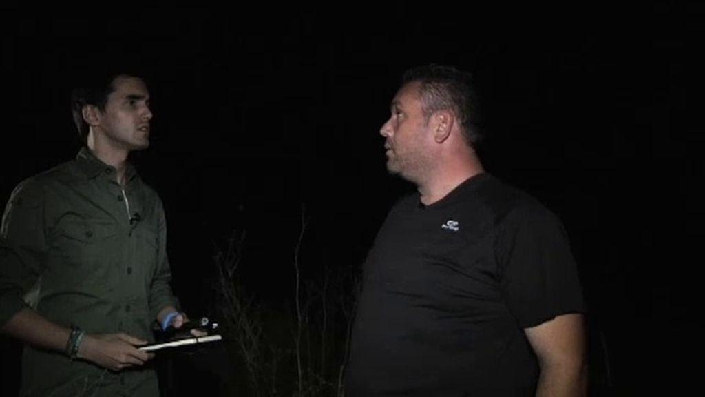 """Antonio Casas, conductor de una ambulancias: """"Una voz fuerte me decía 'ven"""""""
