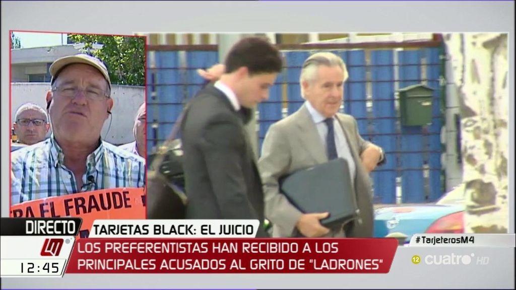 """Antonio, preferentista: """"No vamos a consentir que estos criminales se vayan de rositas"""""""