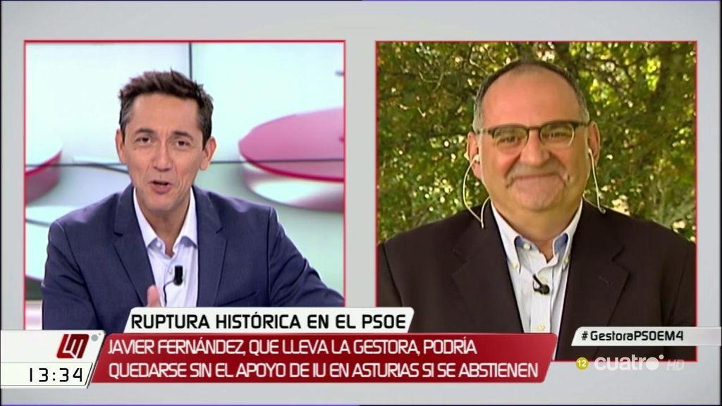 """Losada: """"Da igual lo que decida el PSOE, lo importante es lo que decida Rajoy"""""""