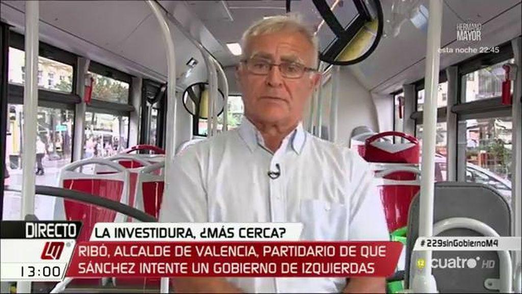 """Joan Ribó, de Montoro: """"Intentar que cerremos una empresa como la EMT de Valencia es una declaración de guerra"""""""