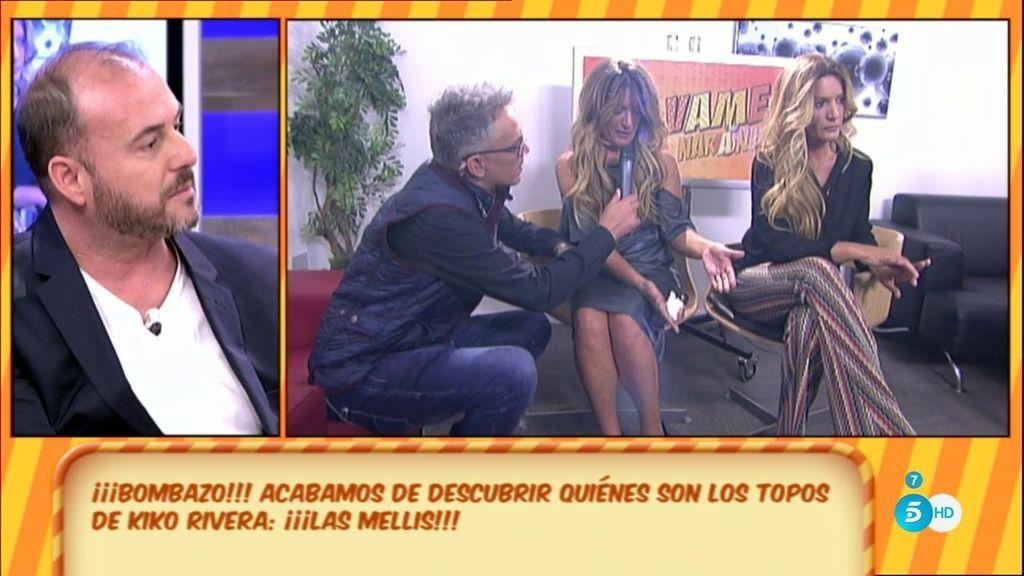 ¡Bombazo!: Rafa, exmánager de Kiko Rivera, desvela que las Mellis son el topo de Cantora