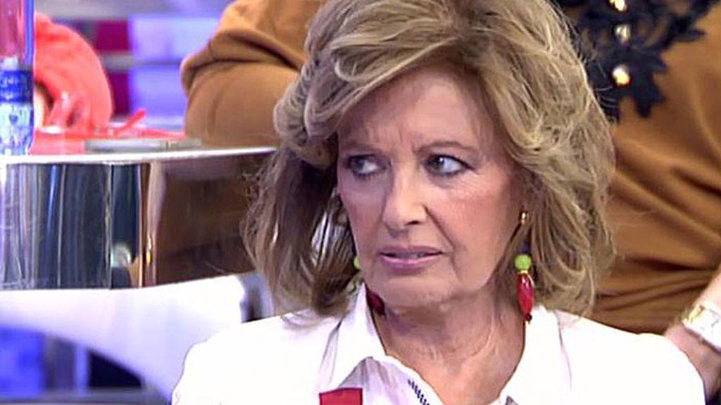 Teresa, preocupada por la imagen que ha dado S. Monroy en los Oscar sobre España