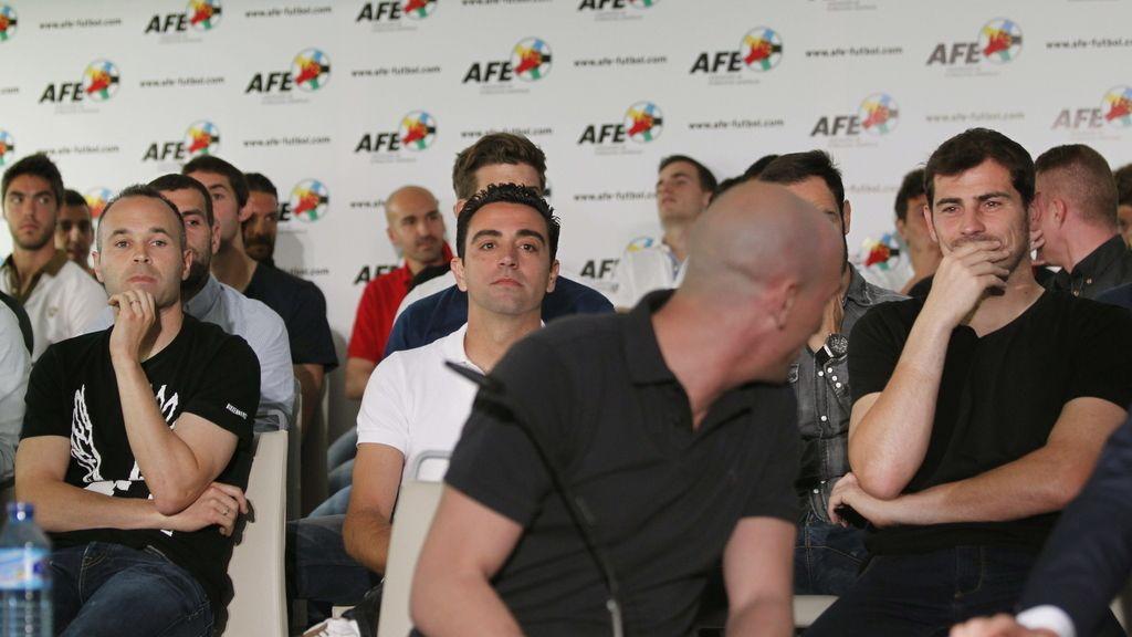 """Luis Rubiales, presidente de la AFE: """"Esto es una medida de defensa"""""""