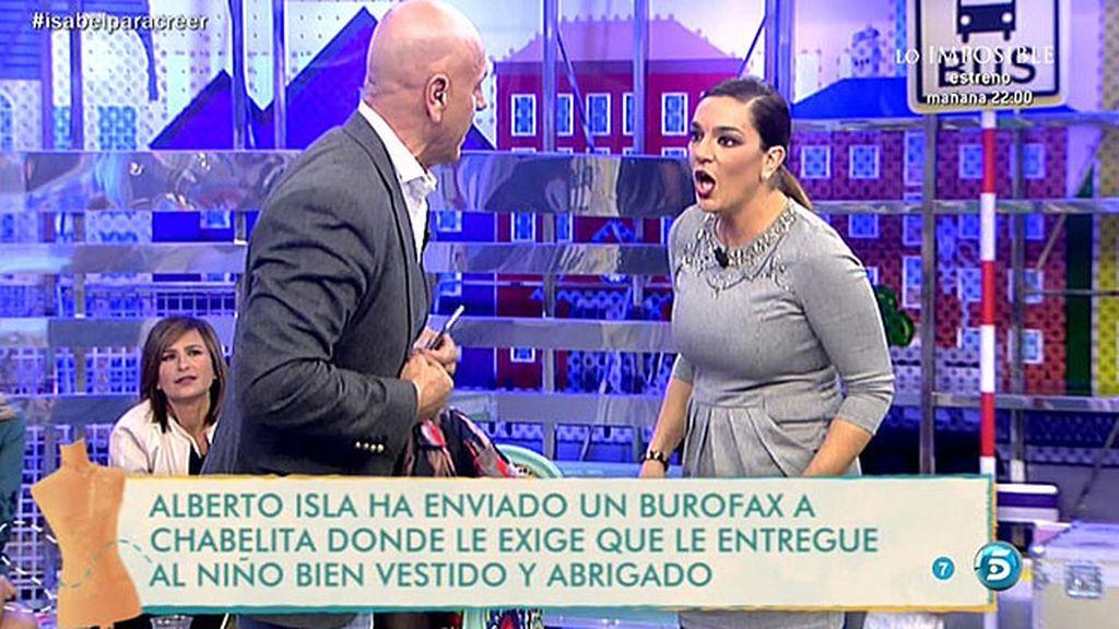 Kiko Matamoros y Raquel Bollo discuten por Alberto Isla y Chabelita