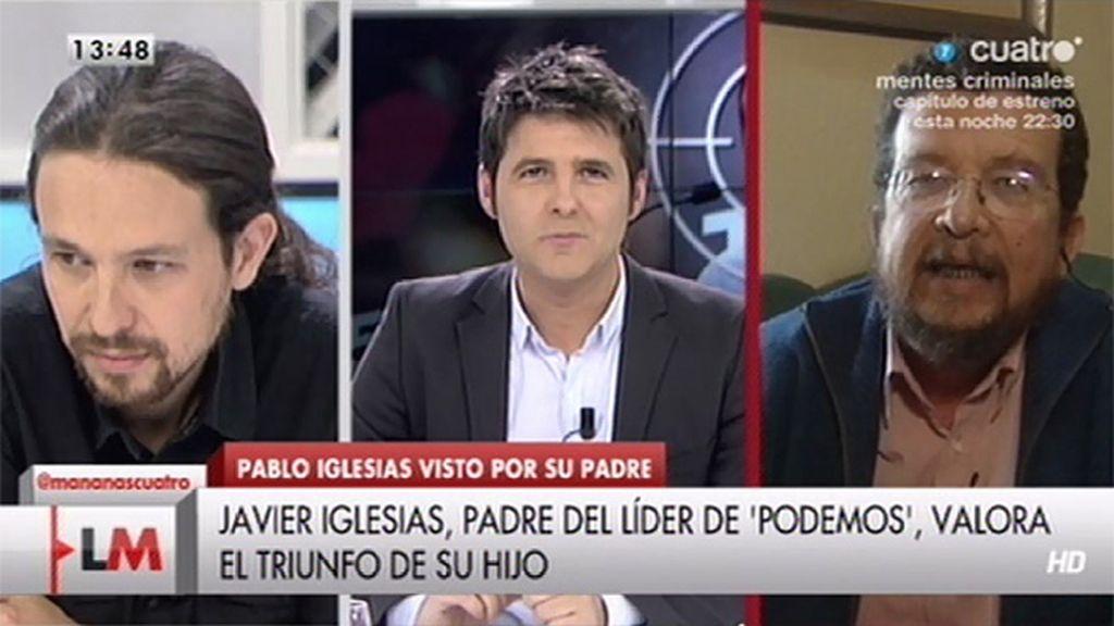 """J. Iglesias: """"Pablo conserva la capacidad de convencer y de entusiasmar a la gente"""""""