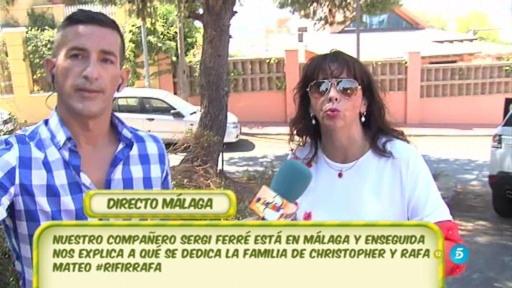 """Mª Luisa, madre de Christopher: """"Mis hijos y yo no nos escondemos de nadie"""""""