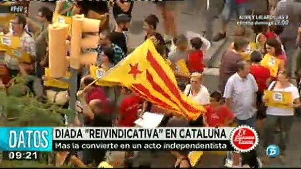 La Generalitat cambia los actos de la Diada y la convierte en un acto independentista