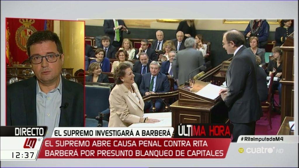 """López: """"En el PP siempre ha habido miedo a que Barberá se convierta en Rita la cantaora"""""""