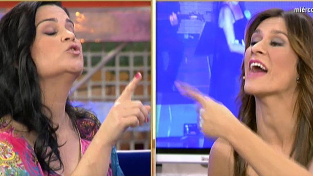 """Pepi Valladares, a Laura Cuevas: """"¡Aquí, la reina de Cantora soy yo!"""""""