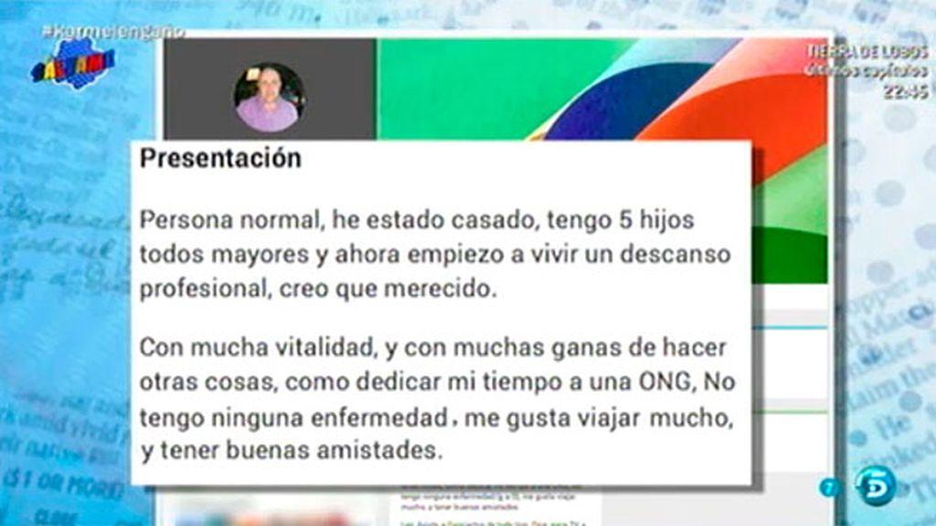 Los perfiles de Diego Soto en la red